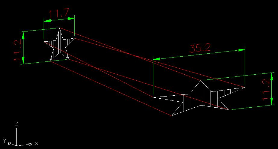 [問題]星星圓形陣列環繞在圓柱有些問題 16c5MX