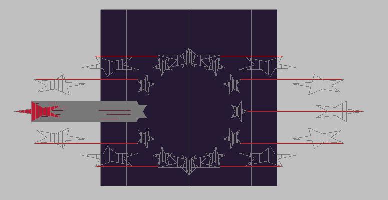 [問題]星星圓形陣列環繞在圓柱有些問題 CMEiLt