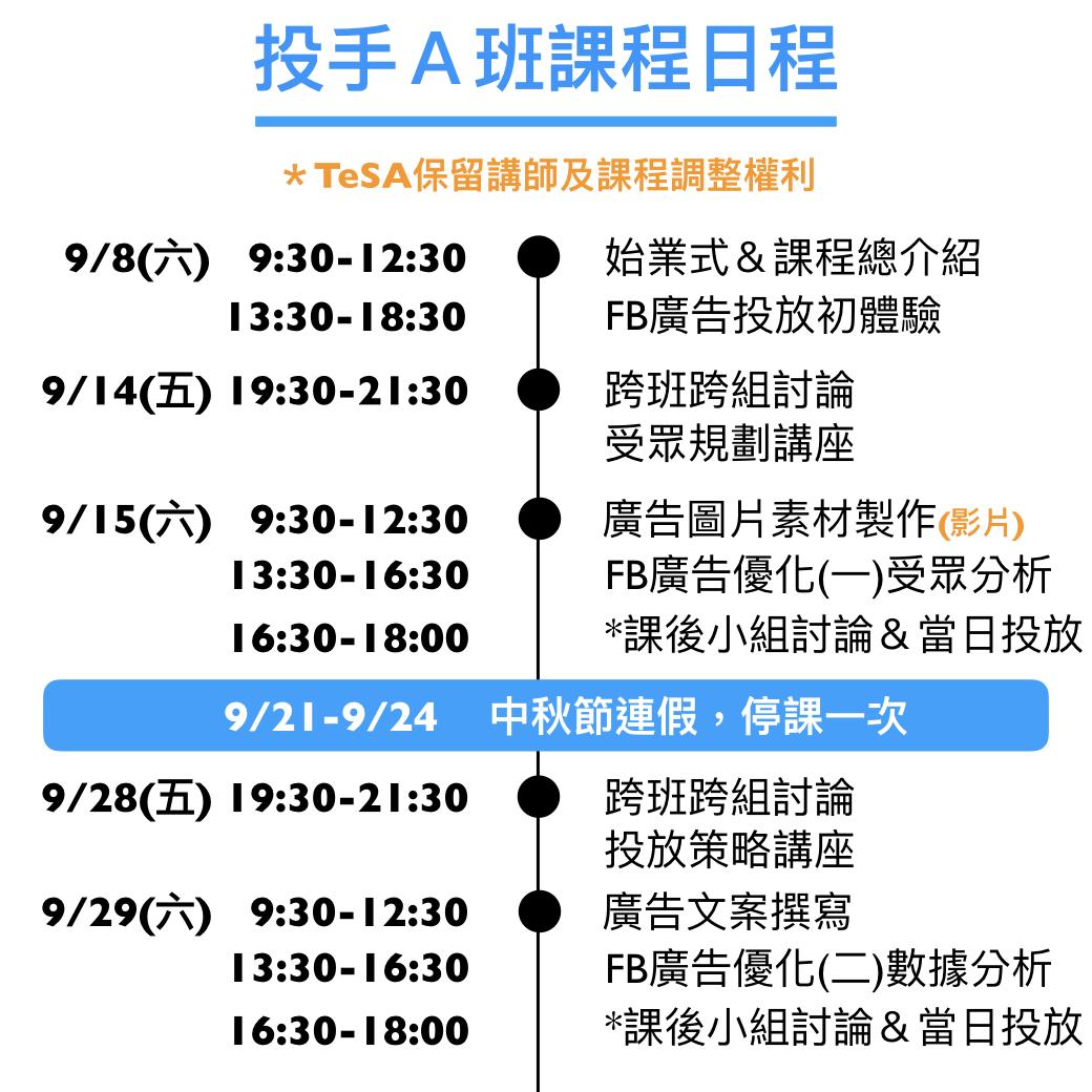 電商大學FB12A課表