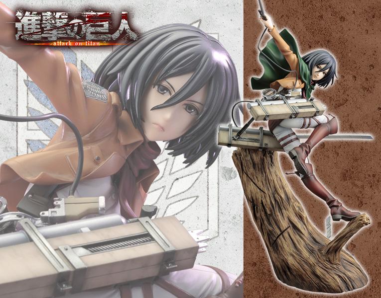 Kotobukiya / ARTFX J / 1/8 / 進擊的巨人 / 米卡莎 / 新包裝