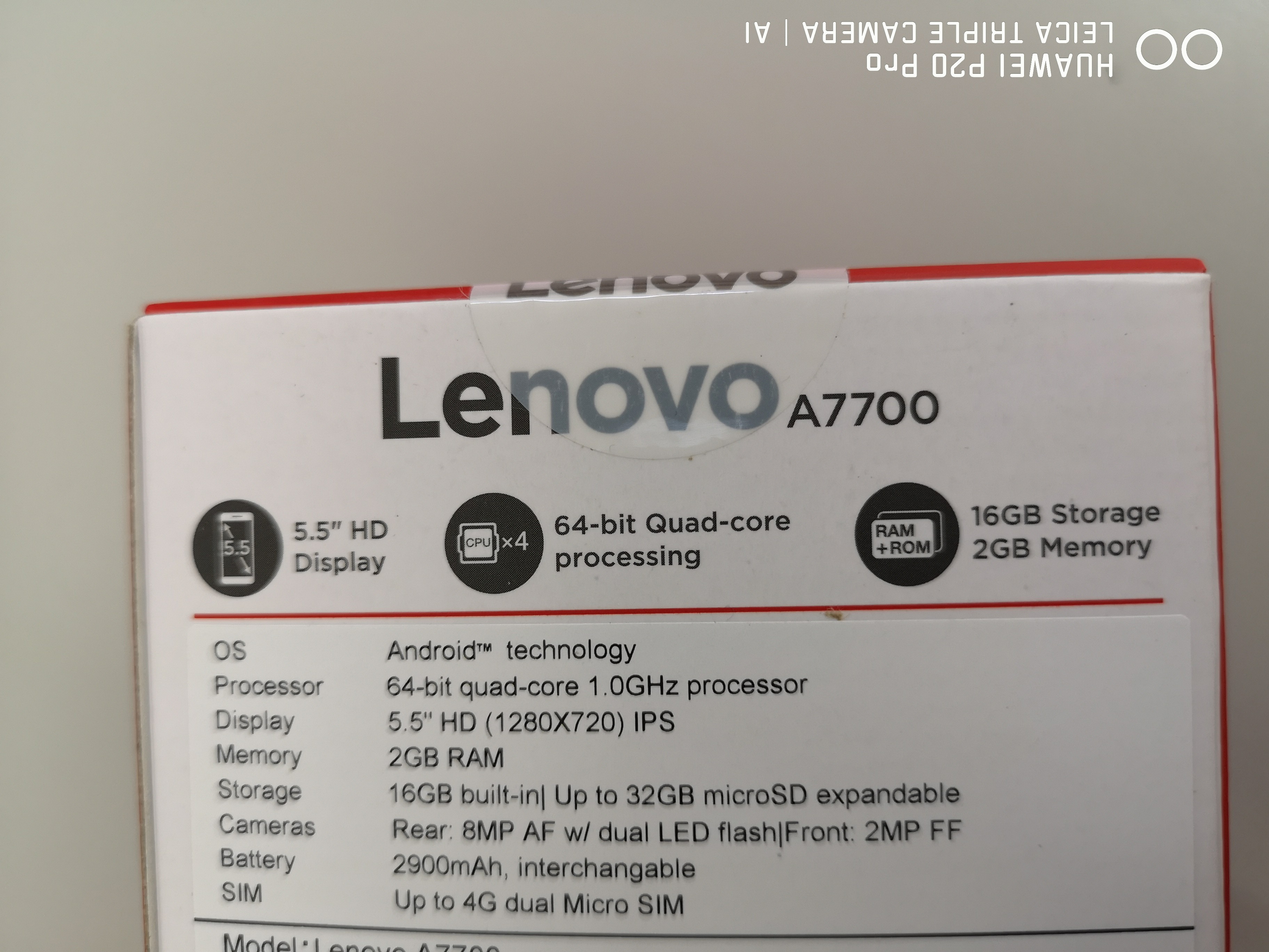 Lenovo A7700 End 5 11 Hkepc Hardware No 16gb Black 24on Callbid