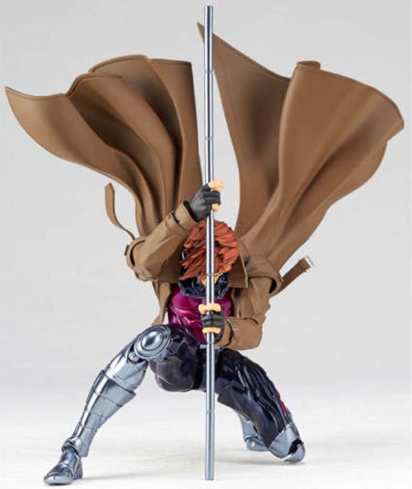 KAIYODO / AMAZING YAMAGUCHI / 山口輪轉可動 / NO.012 / 漫威MARVEL / X戰警 / 金牌手/牌皇 / Gambit