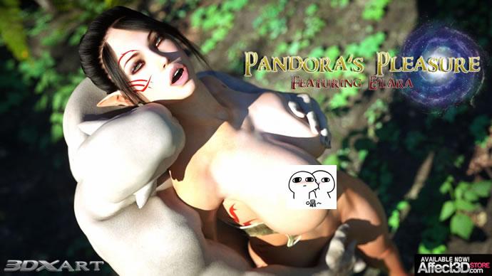 欧美3D漫画《潘朵拉的快乐》(56P)★