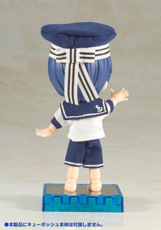 Kotobukiya / Cu-poche / 口袋人 / 專用配件 / 水手風褲 / 藍海豚泳圈打掃套組