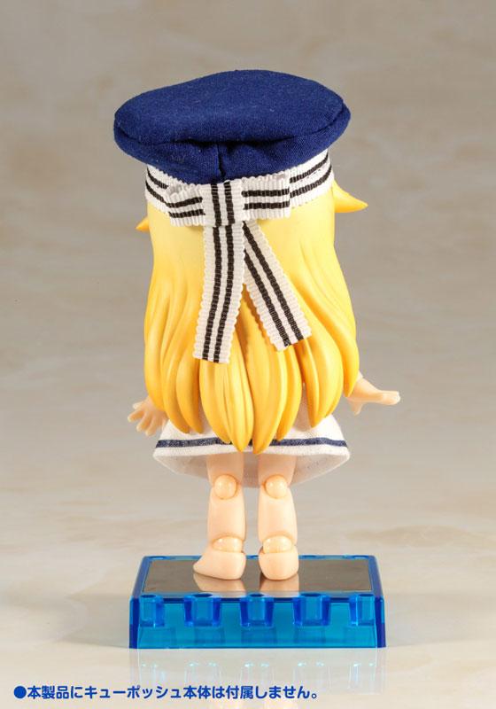 Kotobukiya / Cu-poche / 口袋人 / 專用配件 / 水手風裙 / 粉海豚泳圈打掃套組