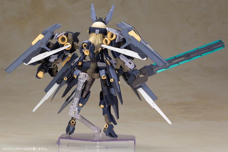 Kotobukiya / FRAME ARMS GIRL / 骨裝機娘 /  夜刃 潔菲卡爾 / 組裝模型