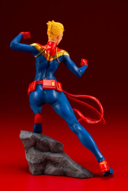 KOTOBUKIYA / 壽屋 / 1/10 / ARTFX+ / Marvel Comics 漫威復仇者聯盟系列 / 驚奇隊長 雕像