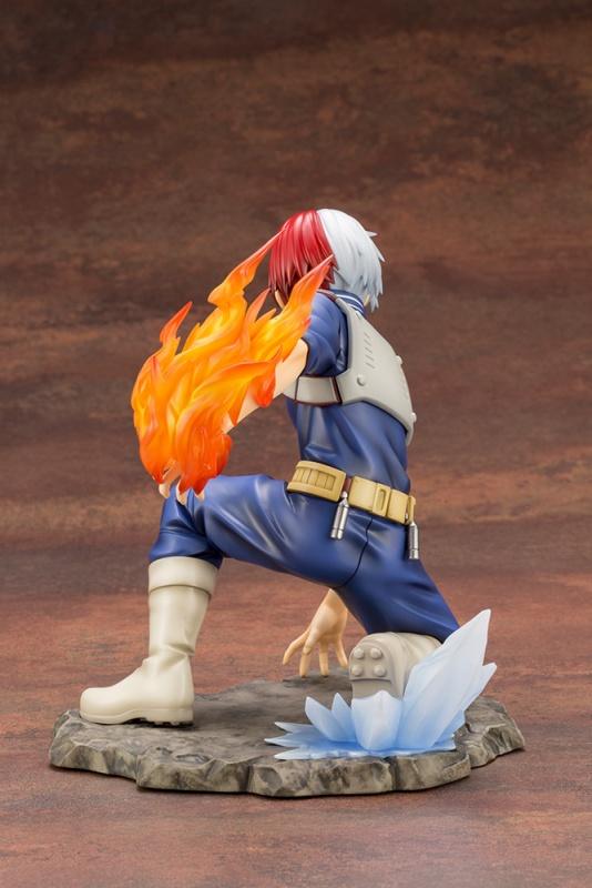 [壽屋特典版] Kotobukiya / 1/8 / ARTFX J / 我的英雄學院 / 轟焦凍 / 戰鬥服 / PVC