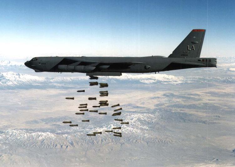 სასწრაფოდ! ამერიკულმა ბომბდამშენმა რუსეთის საზღვრის დაბომბვა