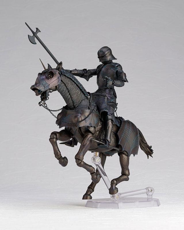 KAIYODO / 海洋堂 / TAKEYA 自在置物 / Project KT-026 /15世紀哥德式重鎧甲騎兵 / 青銅色 / PVC