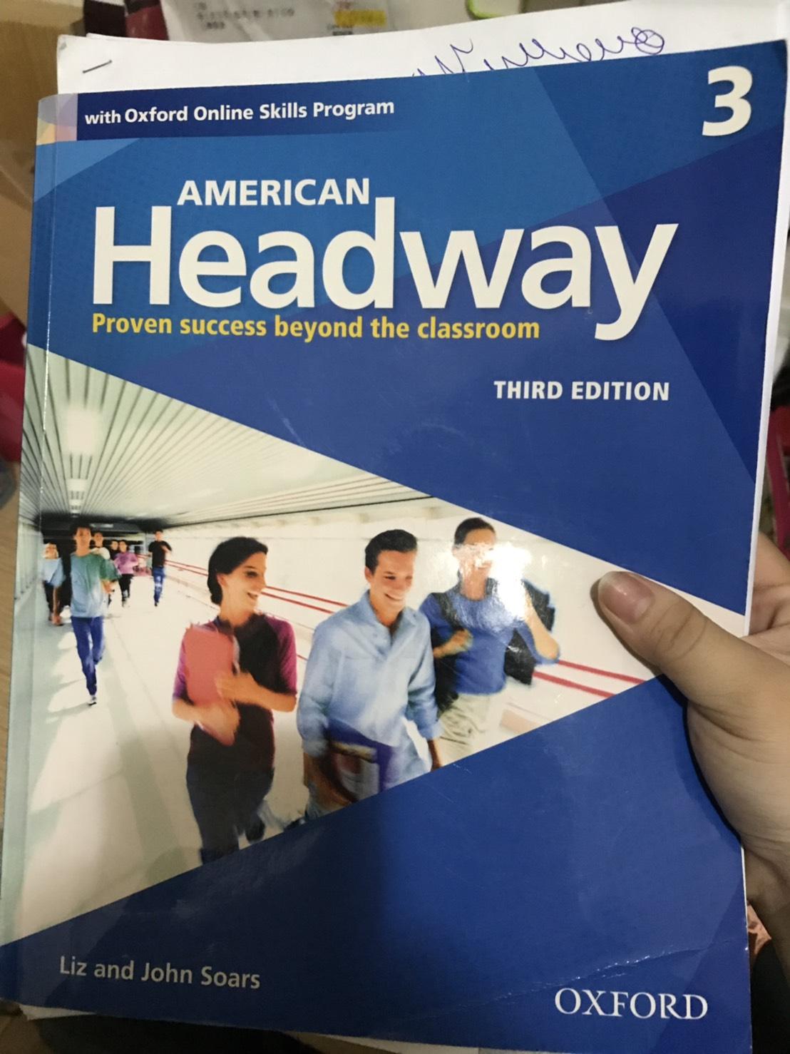 [徵求] American Headway 3/e 二手書