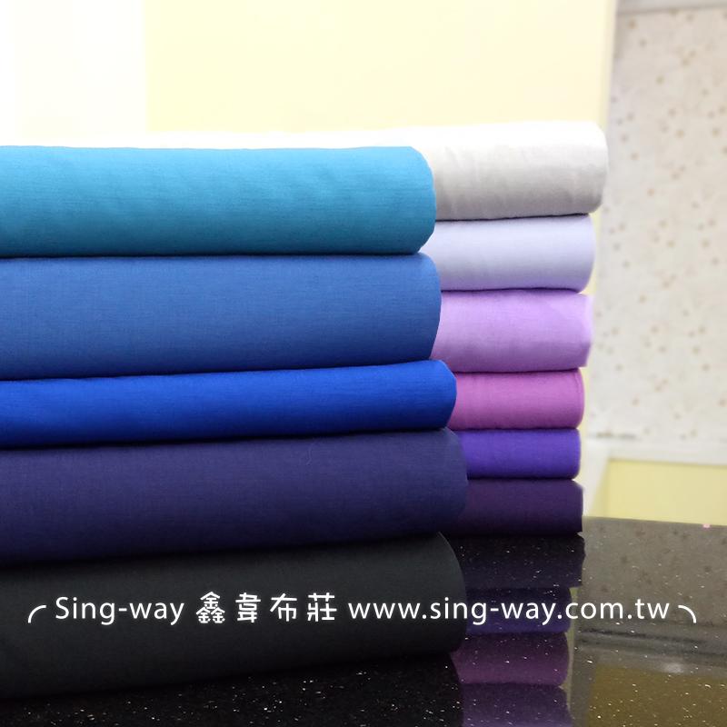 麻紗內裡-藍紫 春夏服飾 透氣 6066