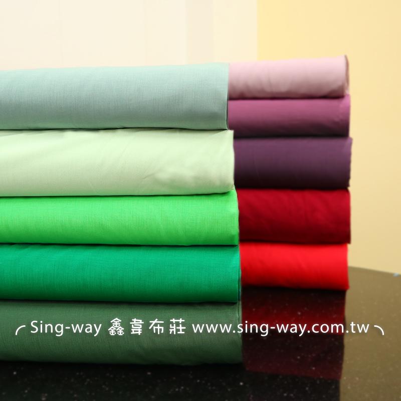麻紗內裡-綠紫 春夏服飾 透氣 6066