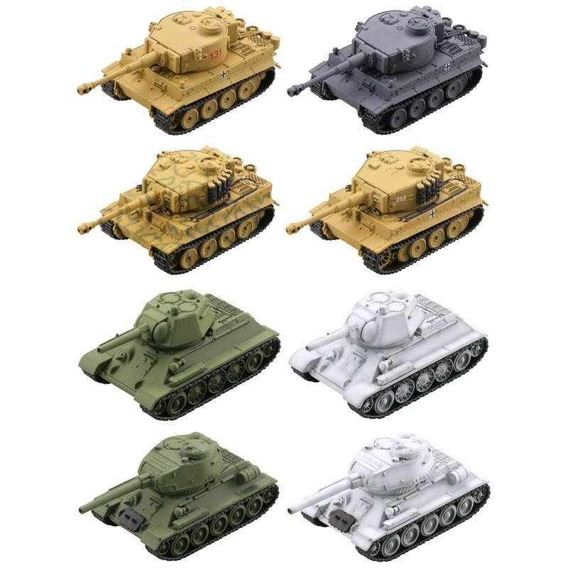 KAIYODO / 海洋堂 / 盒玩 / miniQ / Q版坦克世界7 激鬥東部戰線篇 / 虎式VST-34 / 全8種 / 一中盒8入販售 *8