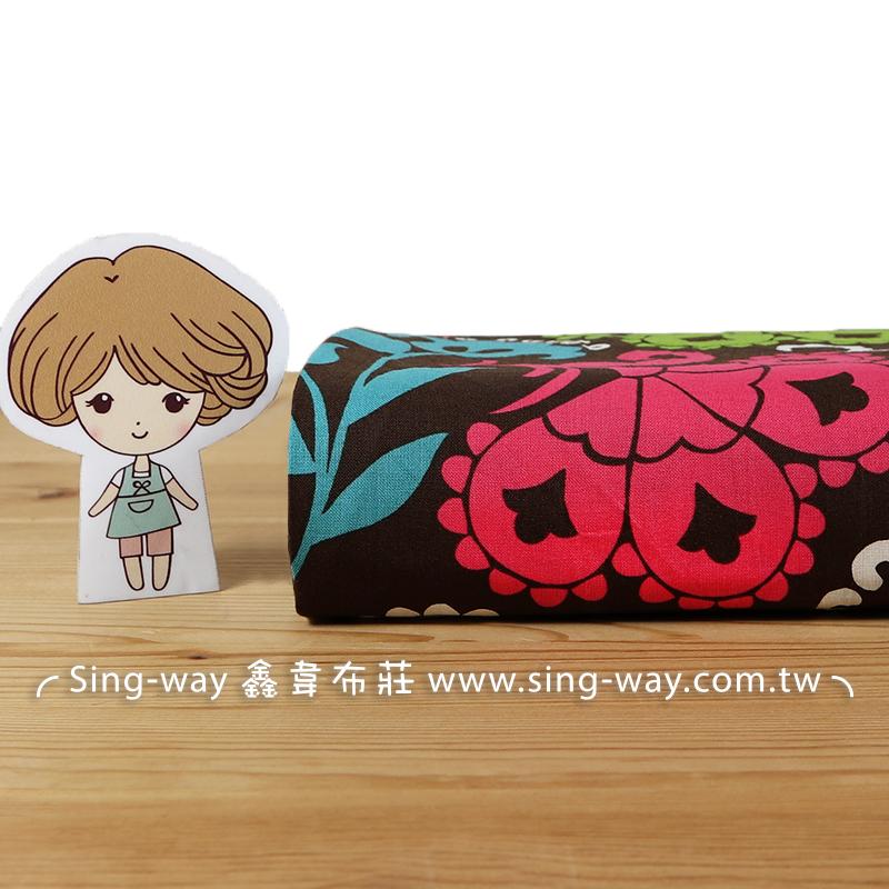 怪怪花 花卉 花草 大自然 植物 手工藝DIY布料 CA490401