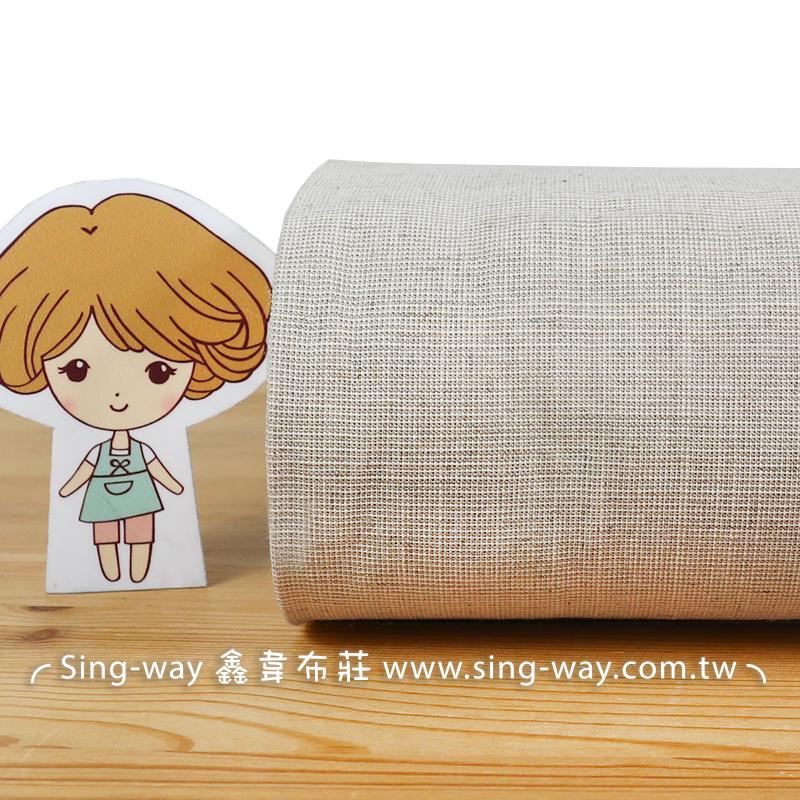 棉麻胚布 簡約無印 禪風 裝飾用布 手工藝DIY拼布布料 FA390264