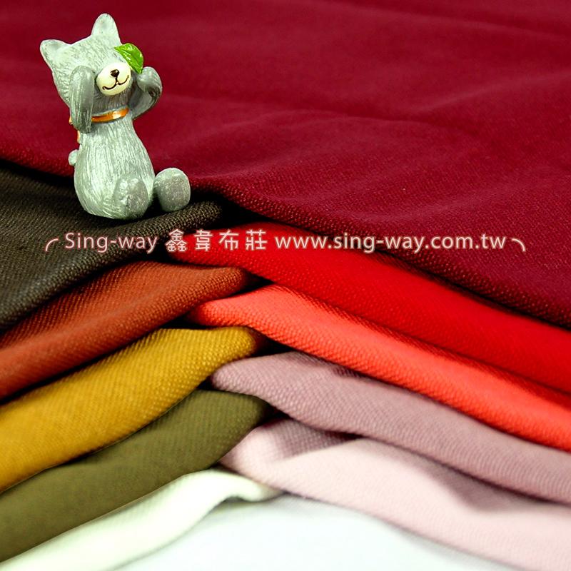 2C640002 暖色系  素面酒袋布 14安 棉布 帆布 3尺7