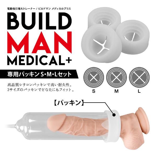 日本NPG-BVILD MAN 陰莖高潮電動增大器助勃器專用配件