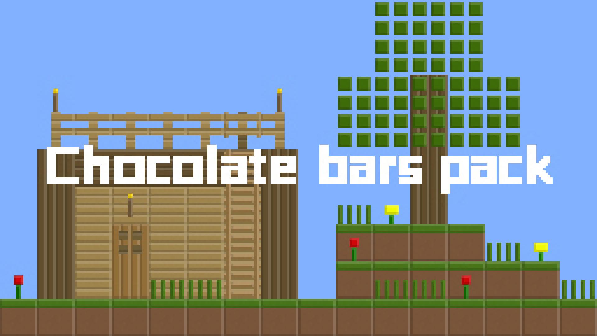 Chocolate bars pack(巧克力材質包)
