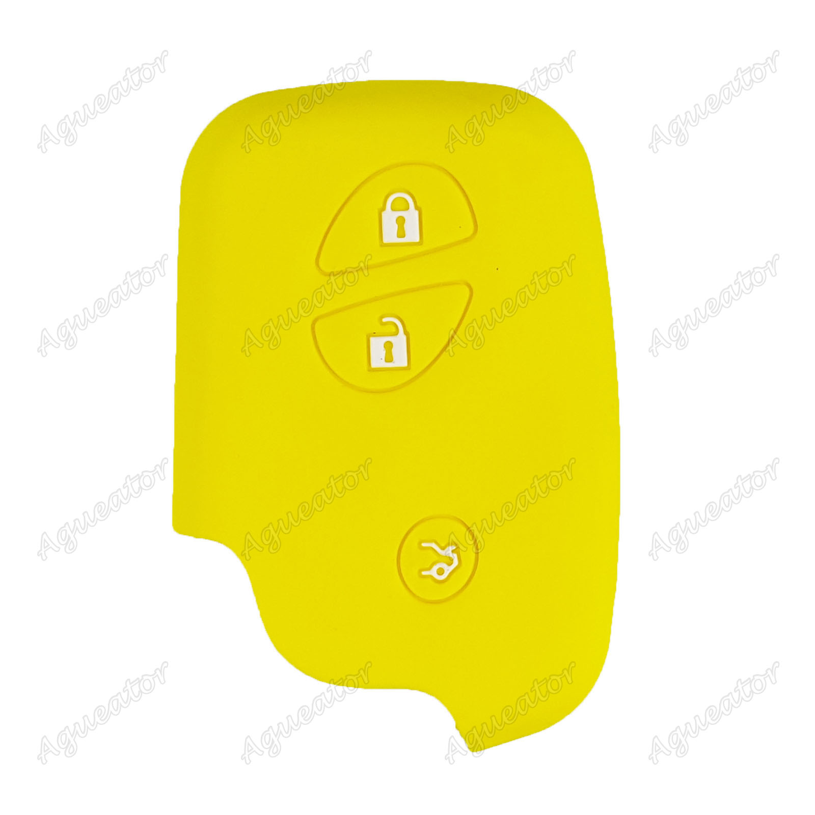 3 Button Silicone Key Cover Case For Lexus CT200H LX570