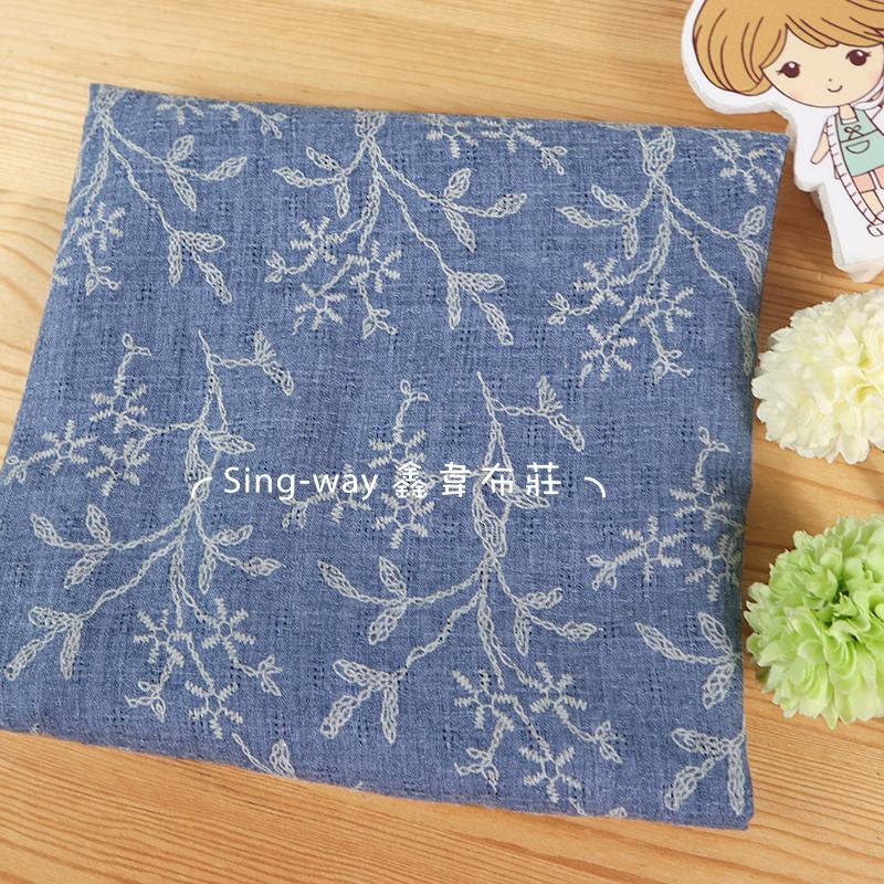 藤樹枝 小花 樹枝 針線縫 手工藝DIY布料 CH790557