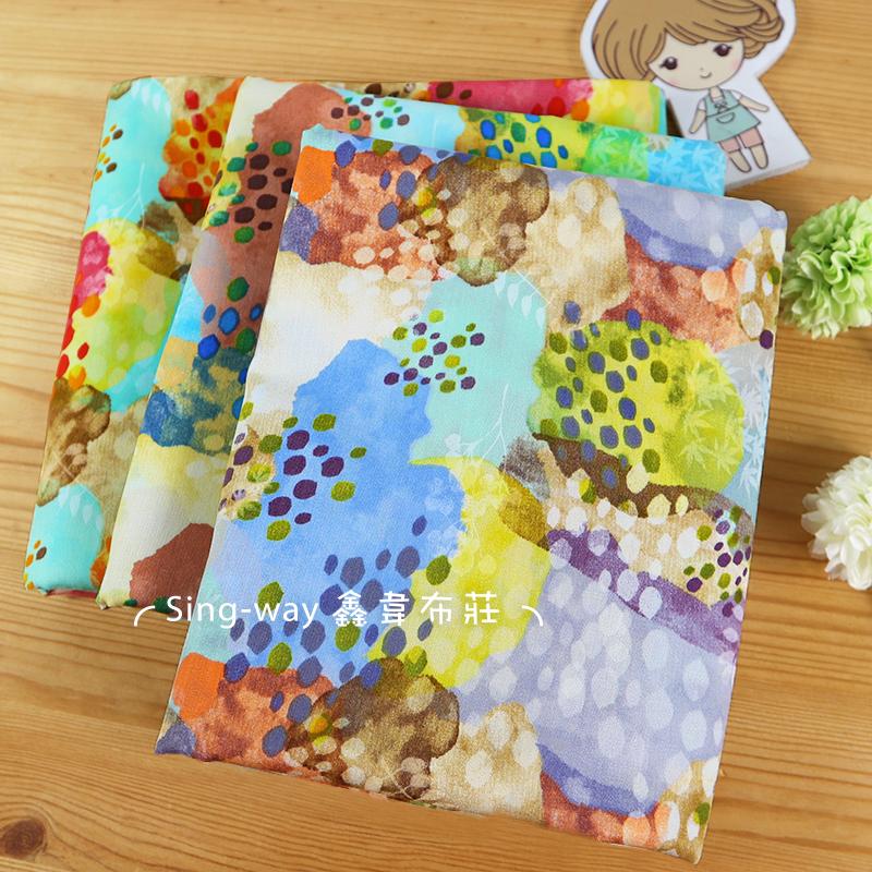 美麗珊瑚群(大特價) 樹葉 石頭 鑽石 海底生物 手工藝DIY布料 CA450812
