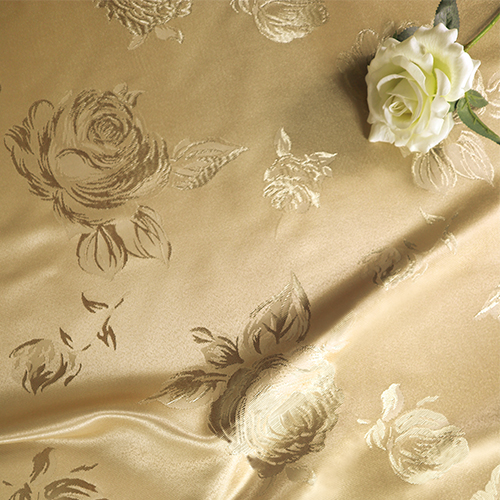 印象薔薇 玫瑰 ROSE 緹花 半遮光窗簾布 DA1190067