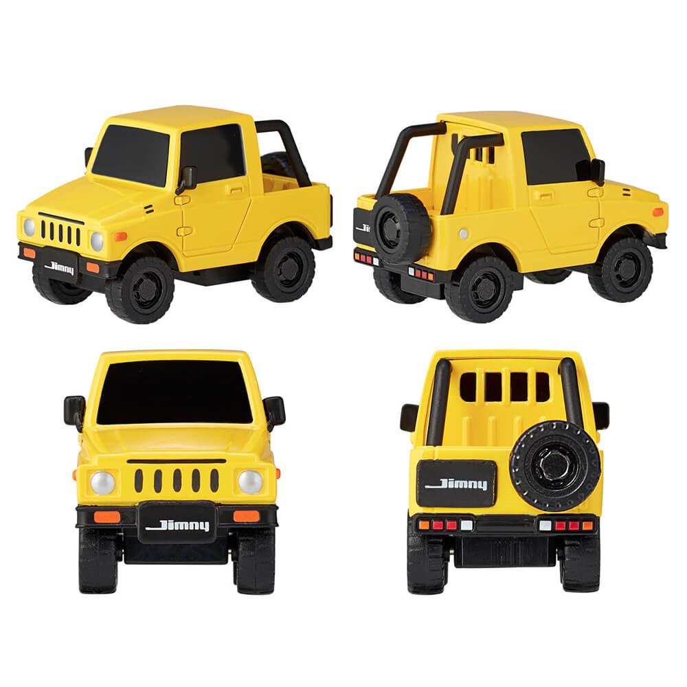 KAIYODO / 海洋堂 / 盒玩 / miniQ / Q版小汽車 JIMNY篇 / 全8種 / 一中盒8入販售