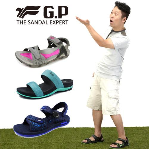 GP吉比 男/女/兒童涼拖鞋