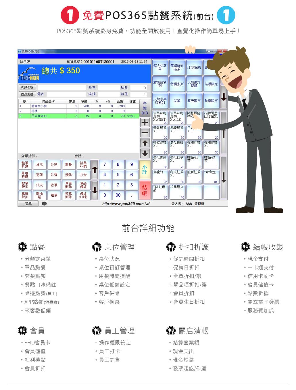 PC電腦版,前台功能,介紹