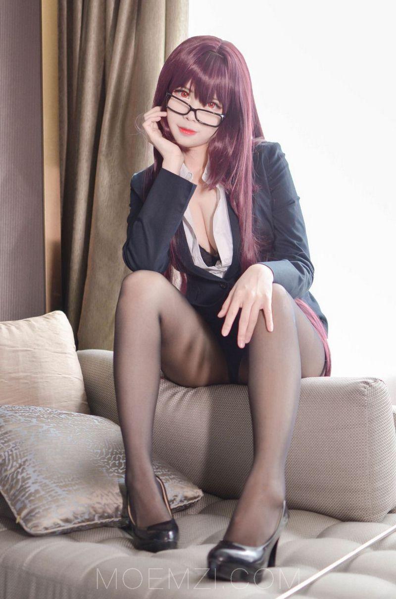 KaYa萱Cosplay斯卡哈老师
