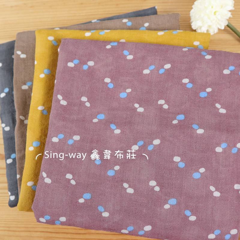 小圓點 小石頭 斑點 秋天氣息 手工藝DIY布料 CH690452