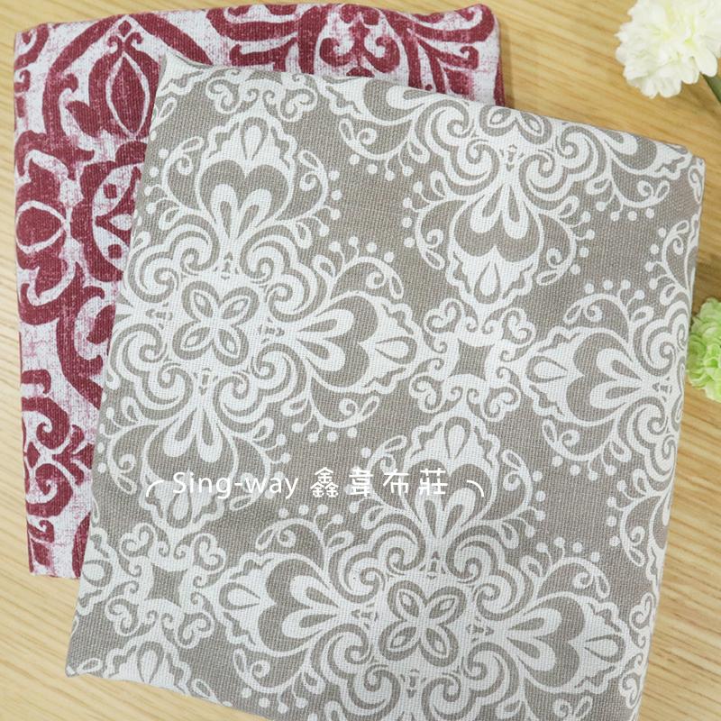 印度花紋 CA790081 百花圖騰 CA790083 高貴 典雅 燈飾 手工藝DIY布料
