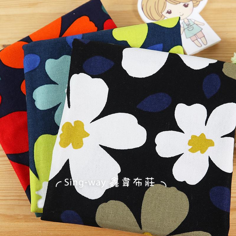 大花 罌粟花 櫻花 氣質風 手工藝DIY布料 CF550780
