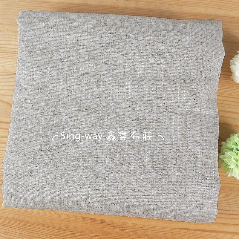 棉麻素面 簡約無印 素面 森林系文青 禪風 手工藝DIY布料 FA890033