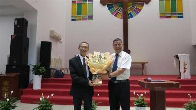 中南神学院举办新老院长交接仪式
