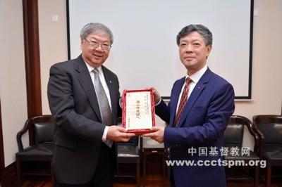 香港中国神学研究院到访基督教全国两会