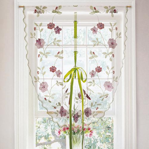 紅木槿(DIY/附緞帶)浪漫花語造型門簾 DB1090002A