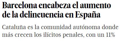 ¿Que está pasando en Barcelona?