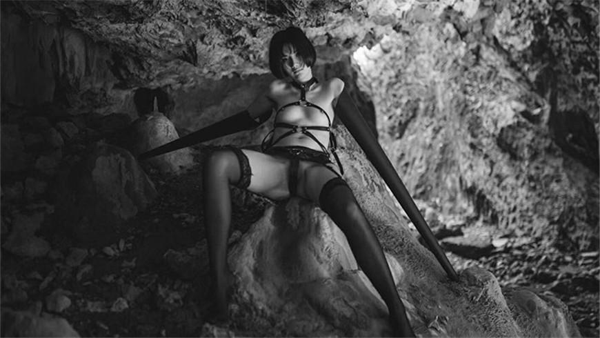 最新着名摄影师L.P御用女神『阿朱』唯美私拍未流出-极品海鲜名模