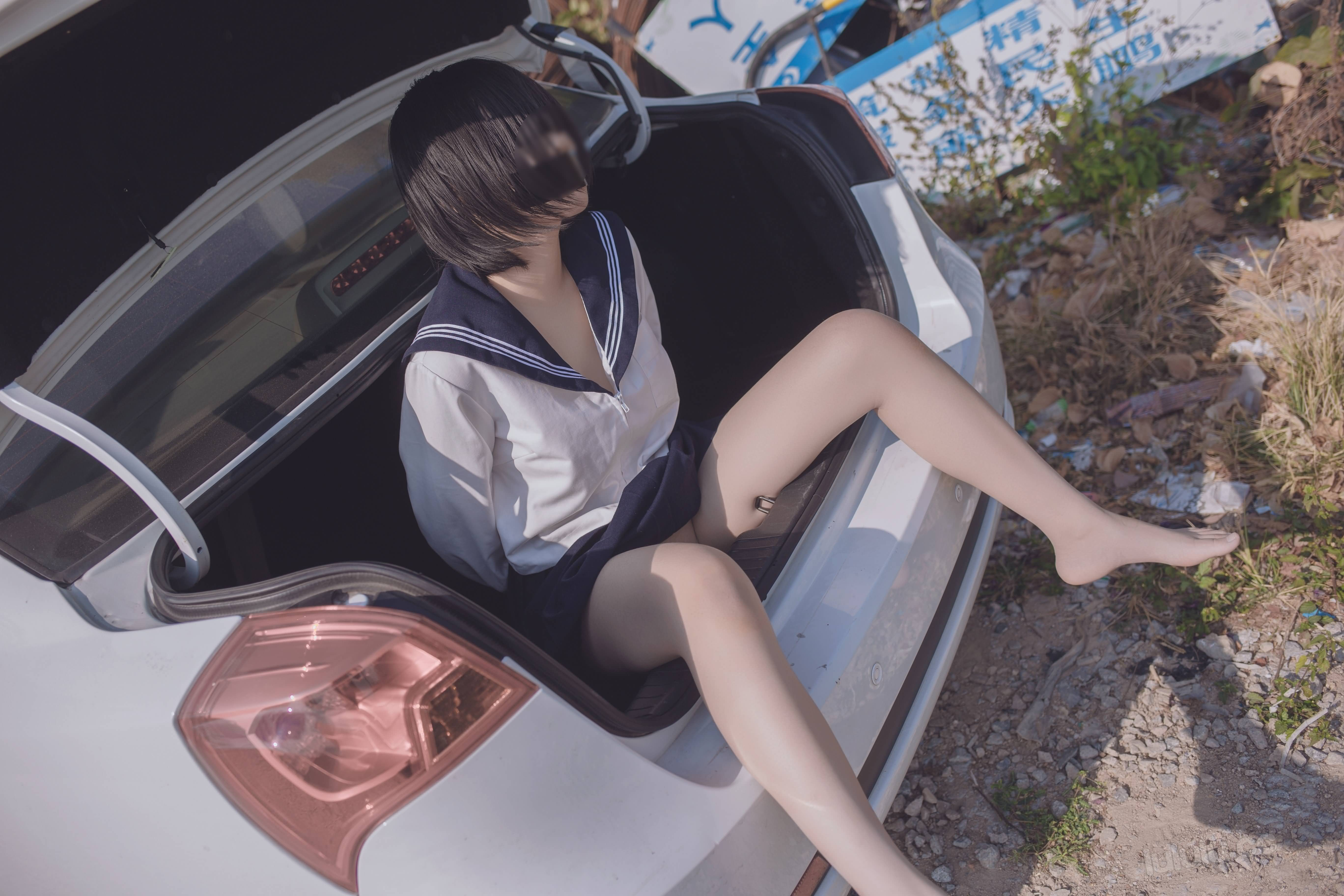 SOCL96 - Japanese schoolgirls were kidnapped and stuffed into the trunk of car 悠宝三岁 JK服