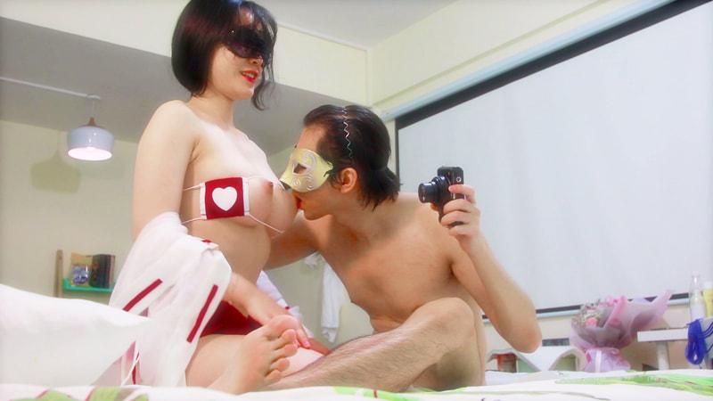 新人EboArt盛世美胸系列第六期麻辣大胸喵侧45度角巫女情趣装 波