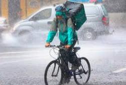 Riders y lluvia, mala combinación