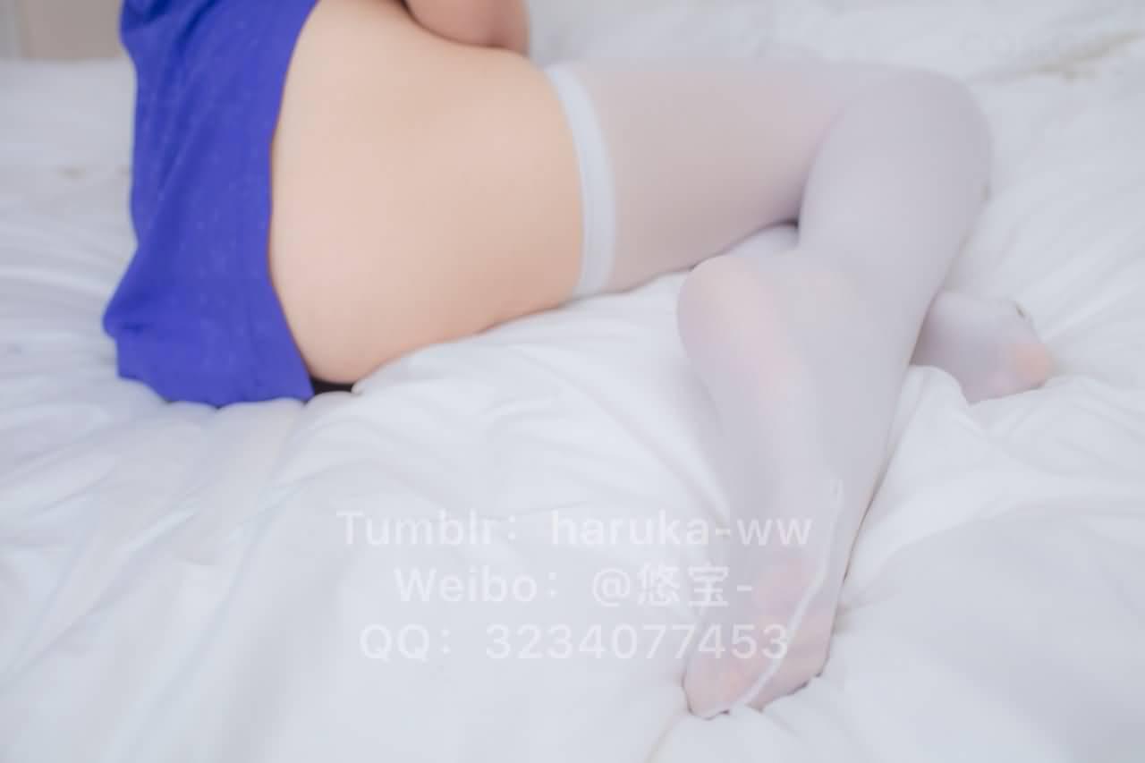 GMZ9XQ - Young japanese school girl white stockings cheongsam 悠宝三岁 白丝旗袍