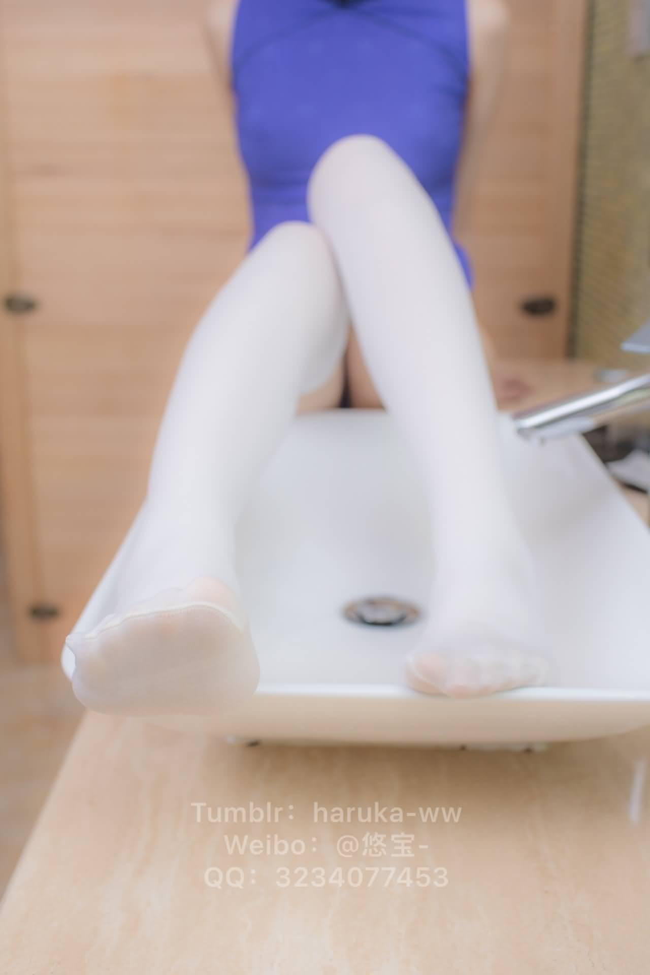 jAPi07 - Young japanese school girl white stockings cheongsam 悠宝三岁 白丝旗袍