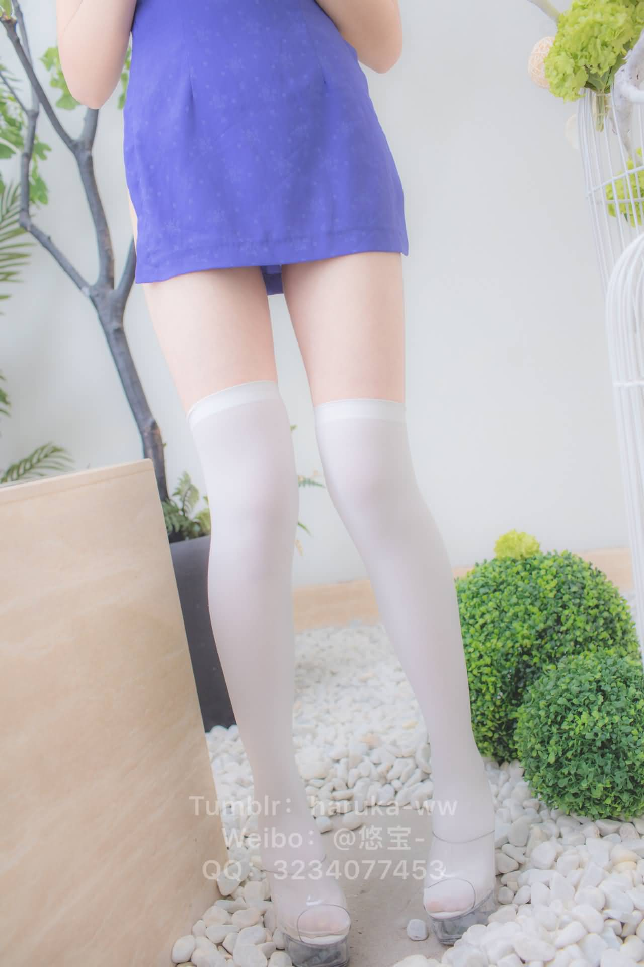 mfpqth - Young japanese school girl white stockings cheongsam 悠宝三岁 白丝旗袍
