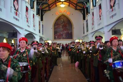 宝鸡市基督教会举办庆祝中华人民共和国成立七十周年暨基督教中国化宣讲大会