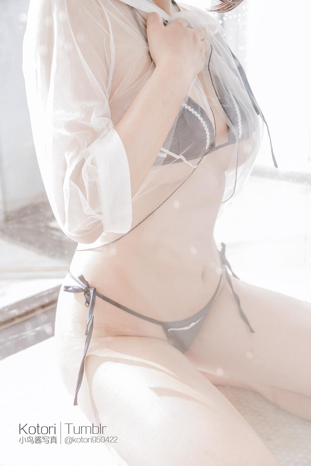 1lCP0M - Cosplay girl Tumblr PR社 福利姬 小鸟酱 透明薄纱装