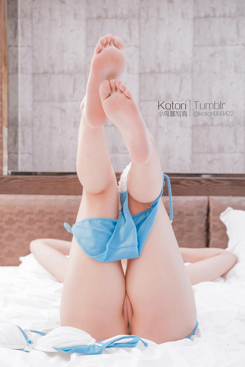 5n0IMu - Cosplay girl Tumblr PR社 福利姬 小鸟酱系列—泳装少女玉藻前