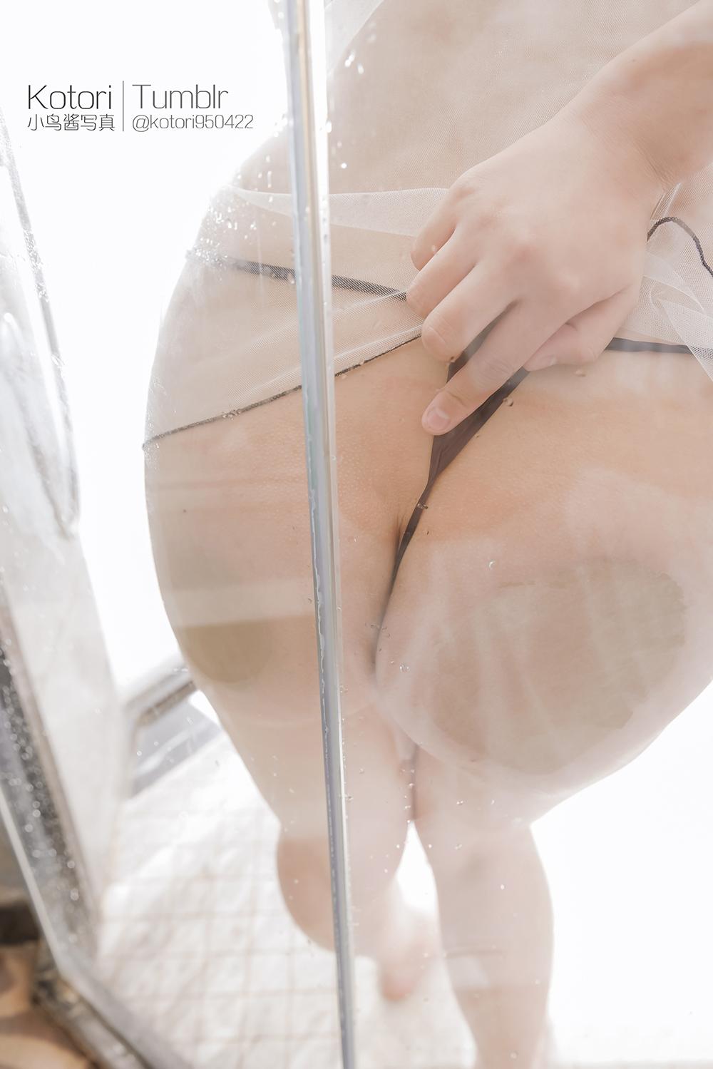 D8Hi3L - Cosplay girl Tumblr PR社 福利姬 小鸟酱 透明薄纱装